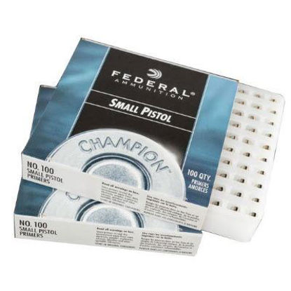 Small Pistol Primers Federal 100pk