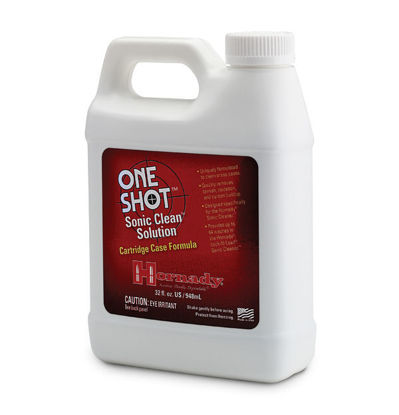 hornady one shot sonic clean solution