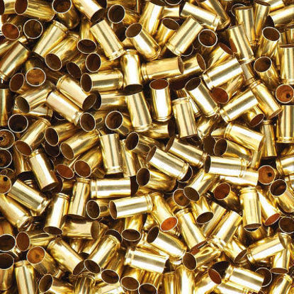 38 Auto/Super Once Fired Brass