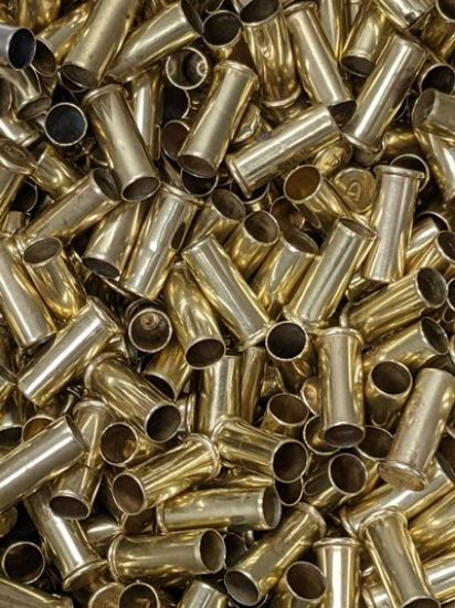 Miscellaneous Rimfire Once Fired Brass Assorted Cases - 1lb   US Reloading Supply